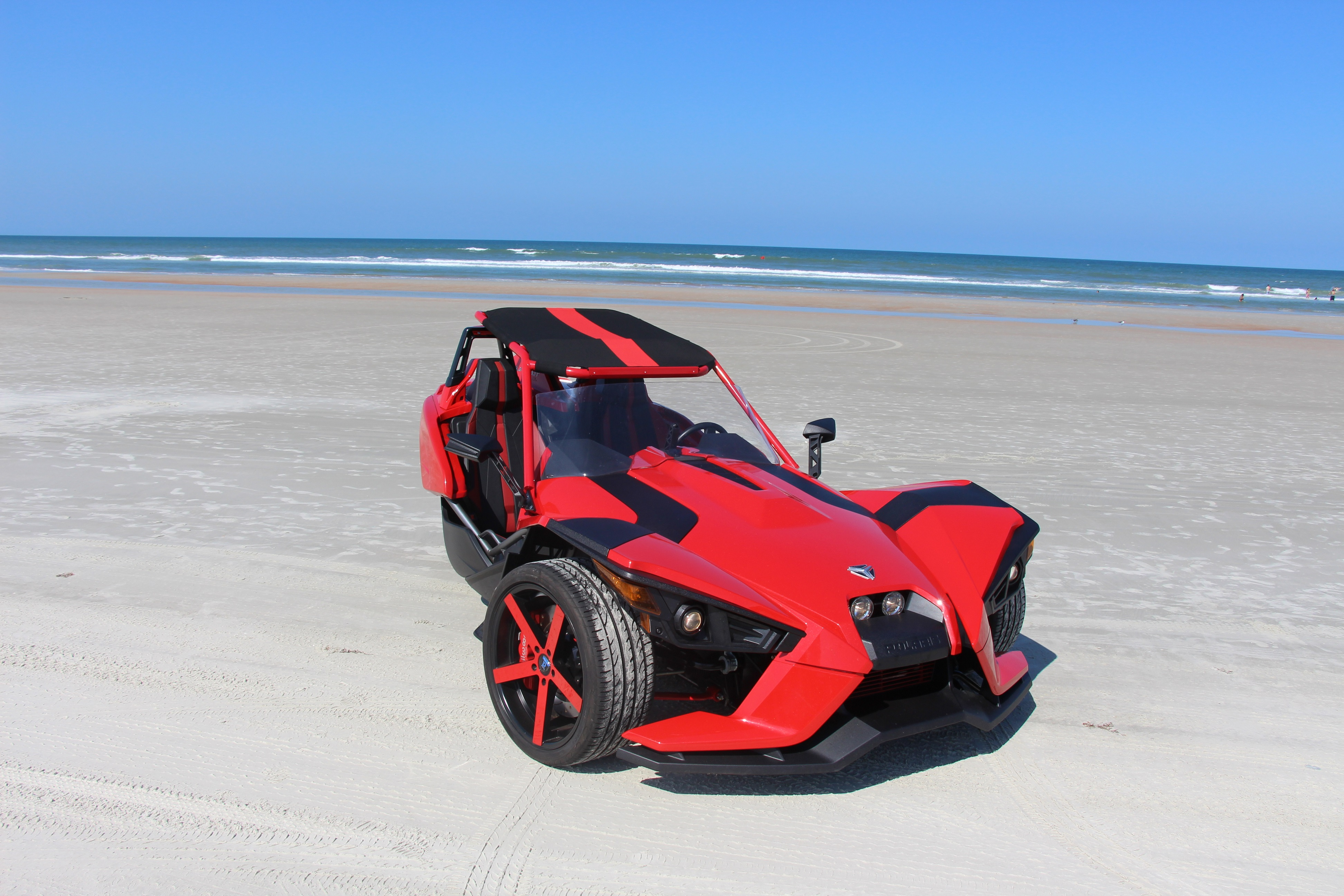 gotta love daytona beach - Polaris Slingshot Roof
