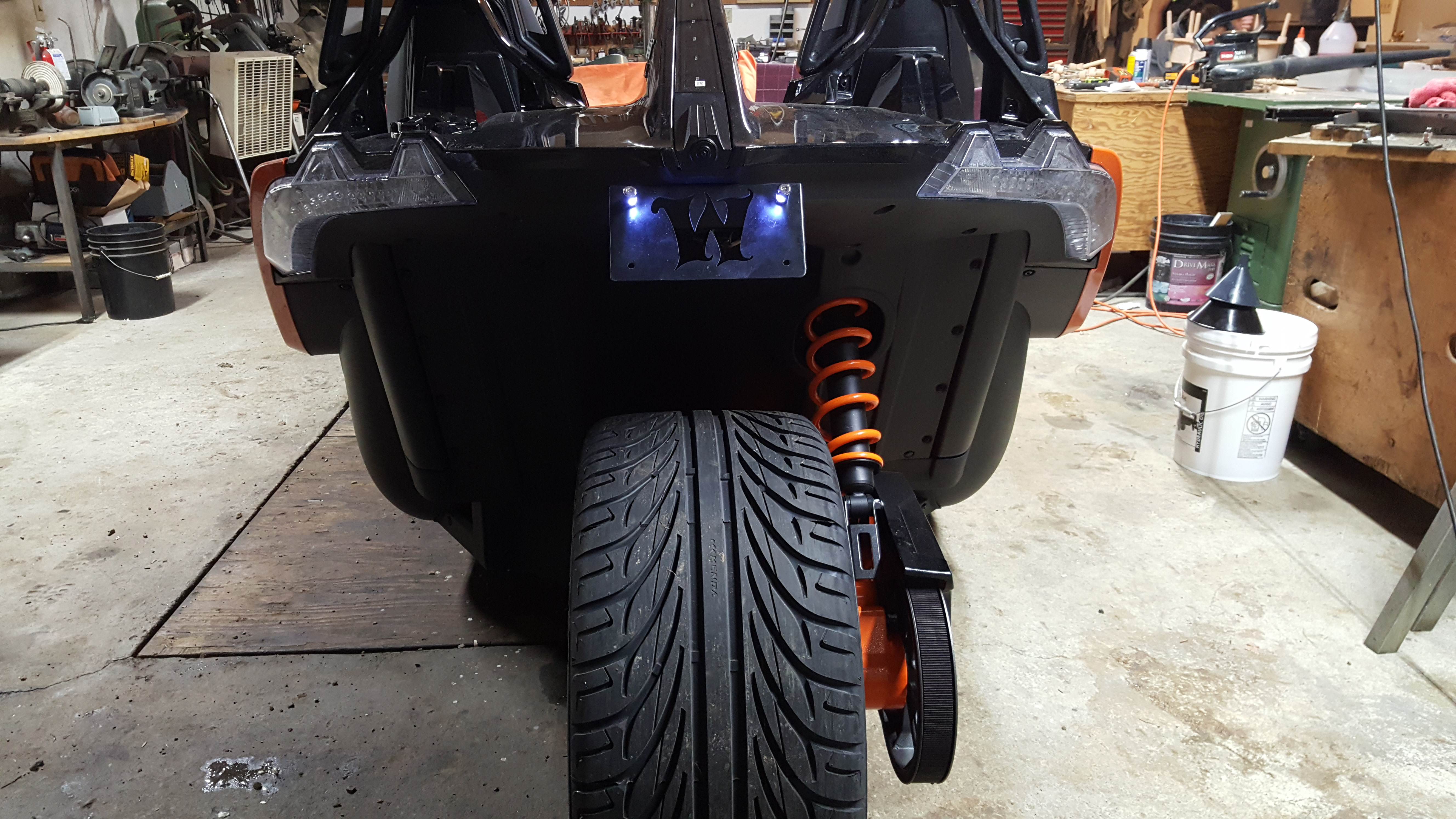 Thoughts About This New Wycked License Plate Relocator Polaris