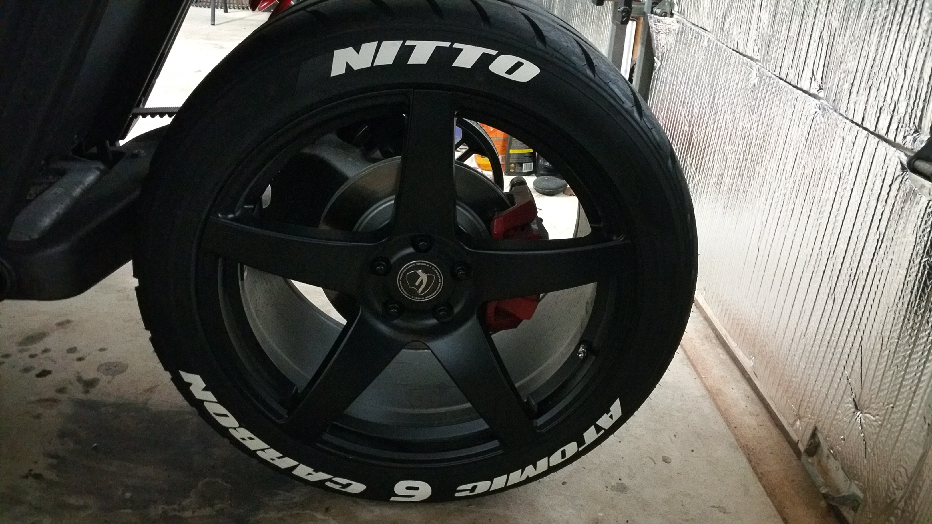 Nitto Tires With White Lettering >> Painted My Tire Letters This Afternoon Looked Fucking Cool