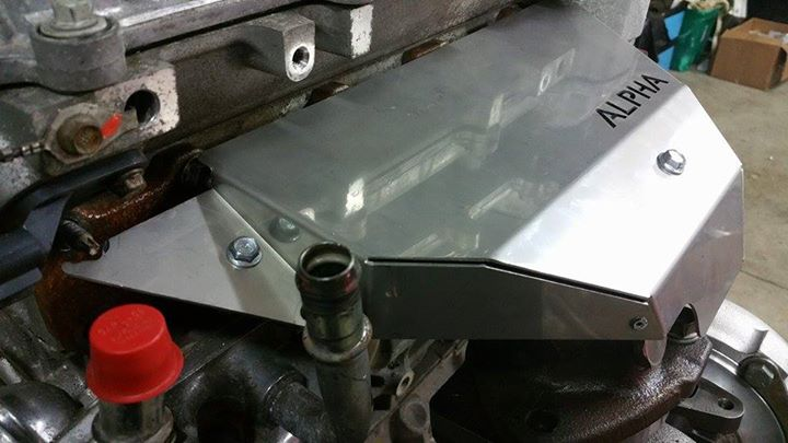 Alpha Exhaust Manifold Heat Shield! | Polaris Slingshot Forum