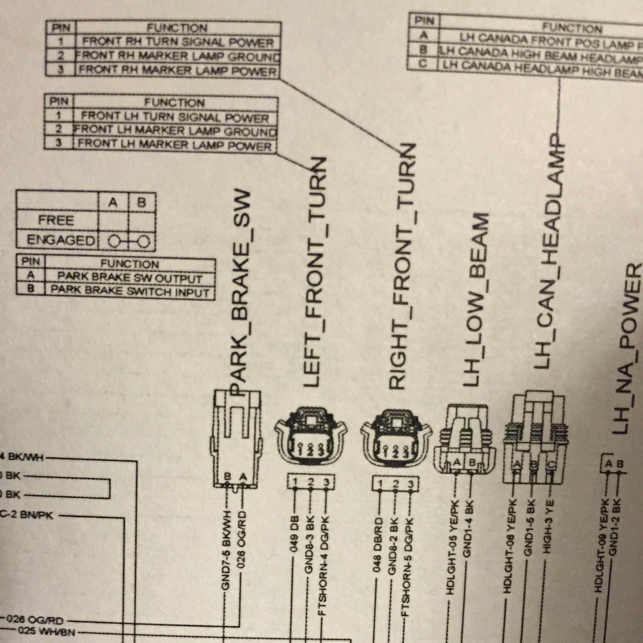 Turn Signal Wire Help Please Polaris Slingshot Forum Thread Wiring Helpplease Imagejpeg