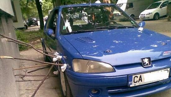 Parking On Kerb Damage Car