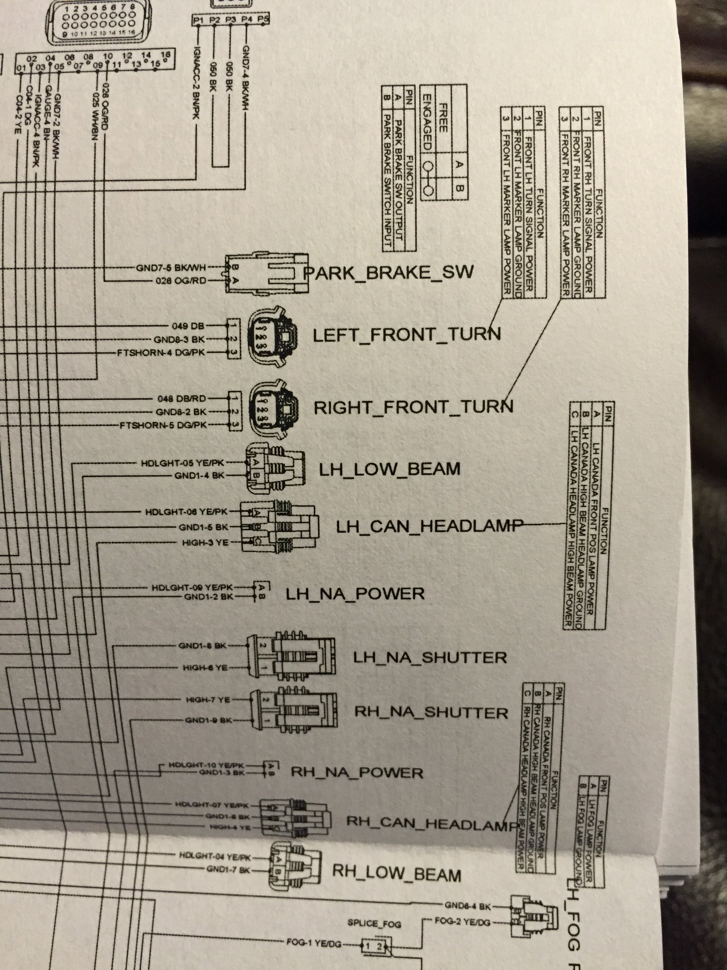 headlight wiring diagram polaris slingshot forum polaris wiring schematic at readyjetset.co