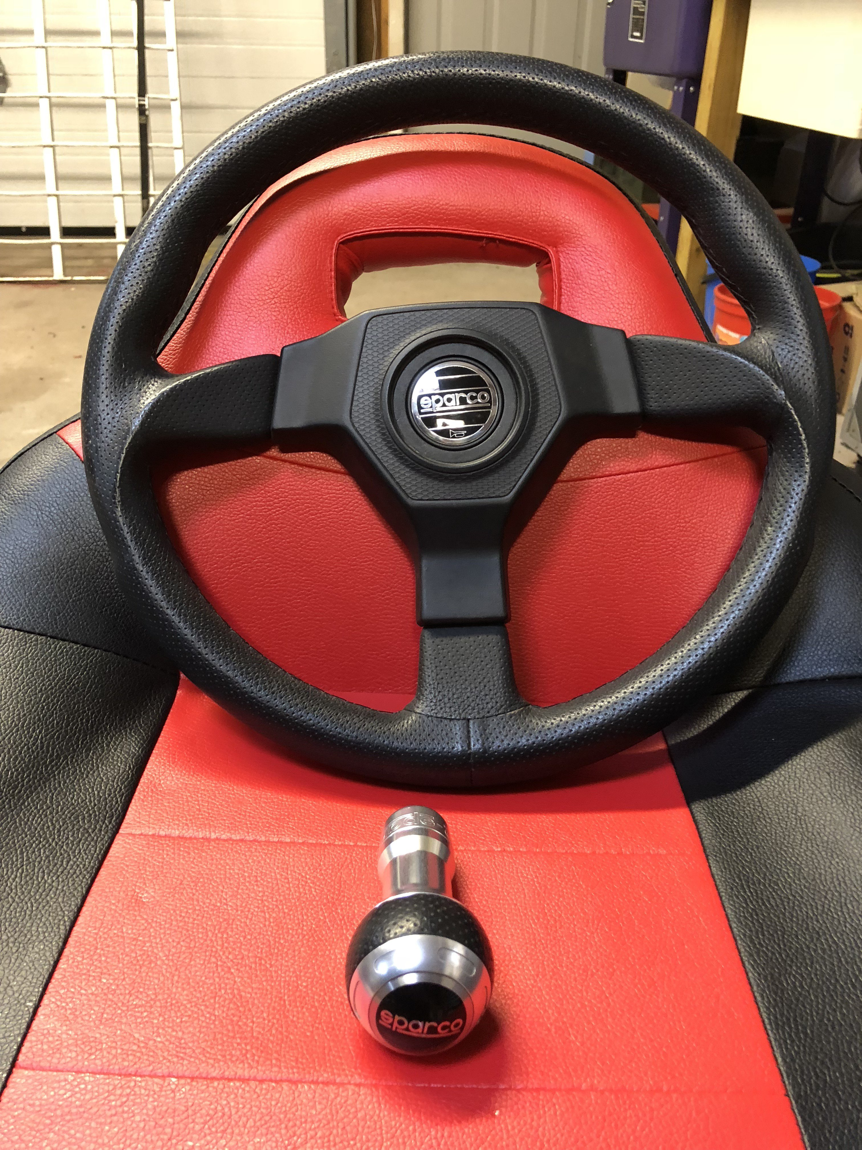 Sold! - Sparco Shifter / Steering Wheel | Polaris Slingshot Forum