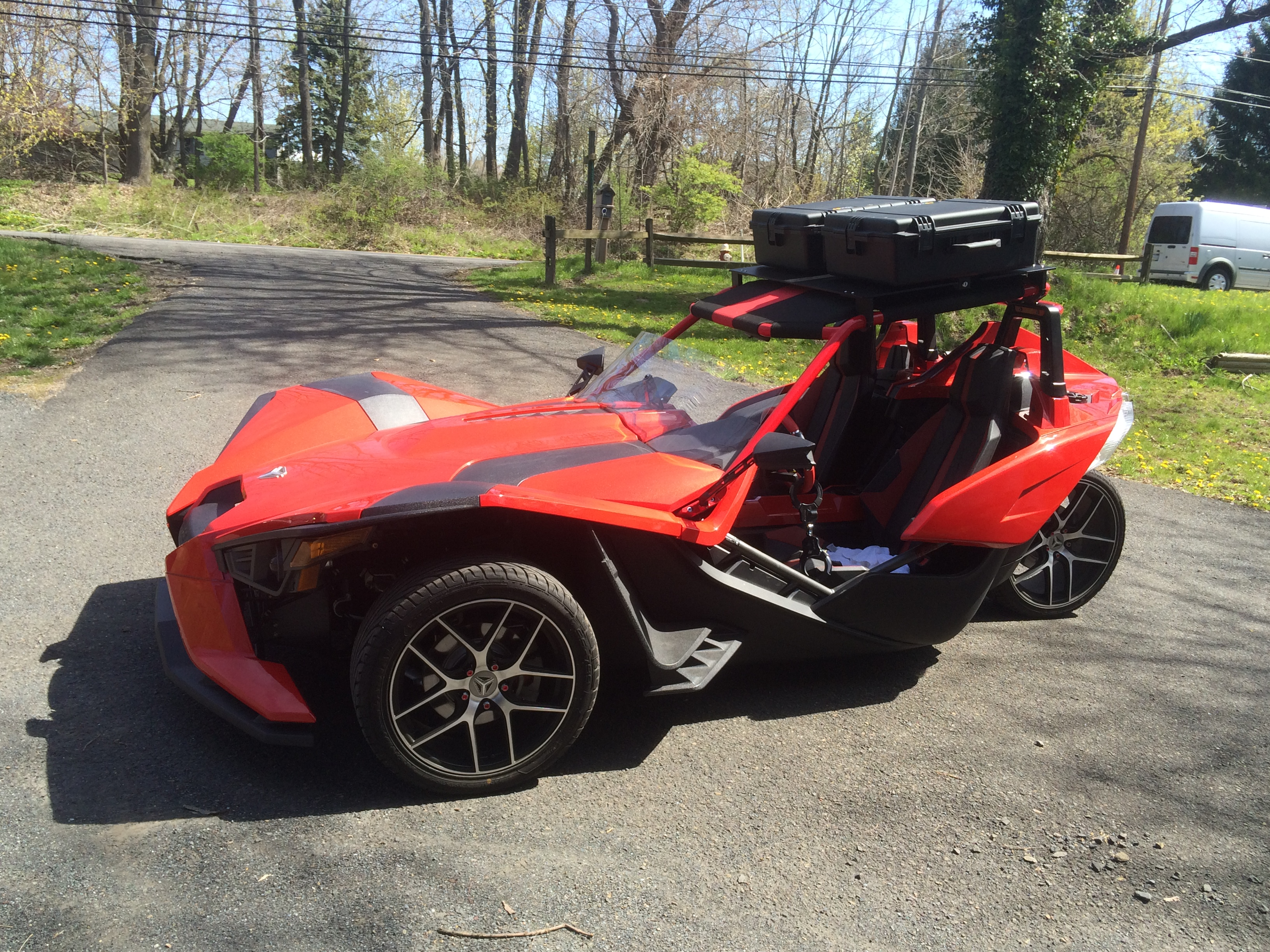 Polaris Slingshot Soft Top >> New Twist Dynamics Rooftop installed | Page 13 | Polaris Slingshot Forum