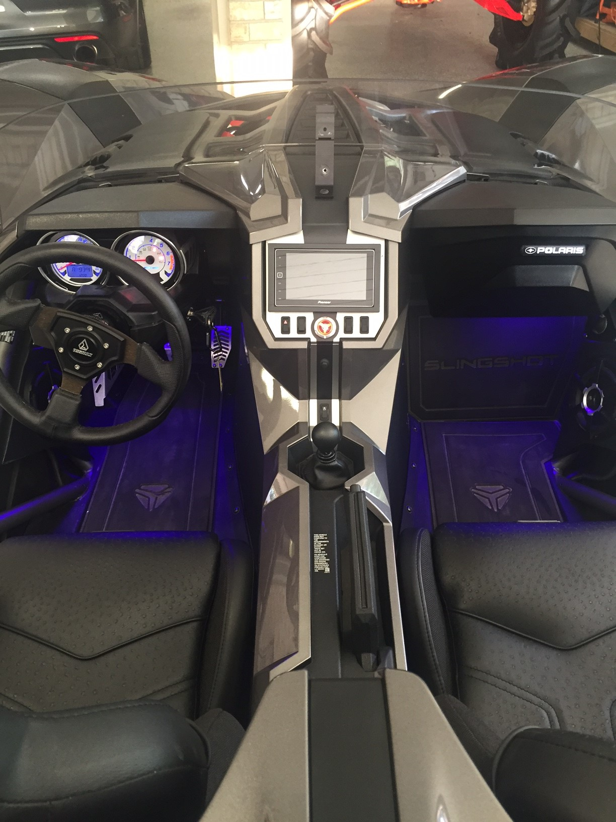 for sale 2015 polaris slingshot many extras low miles