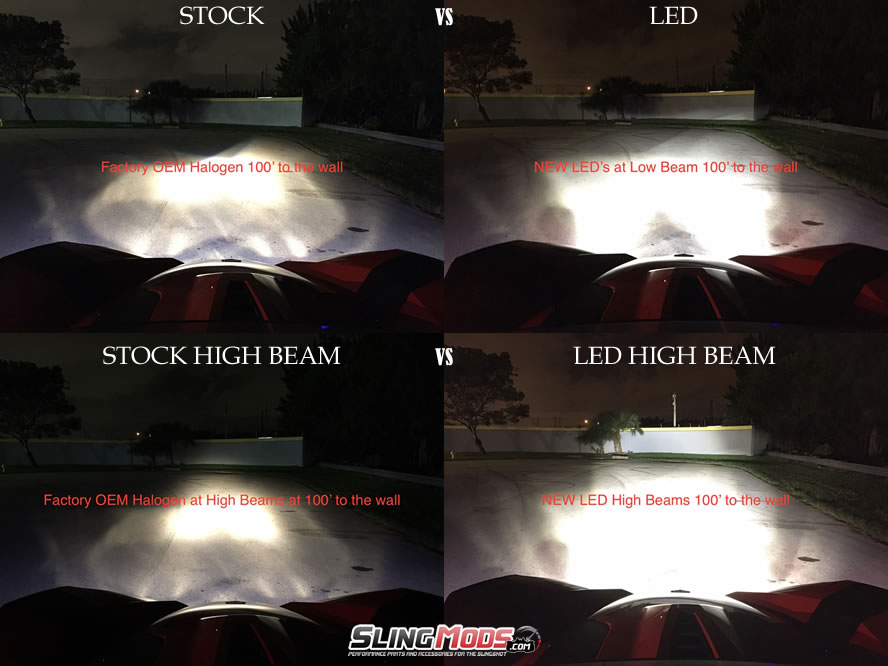 led headlights vs hid kit page 2 polaris slingshot forum. Black Bedroom Furniture Sets. Home Design Ideas