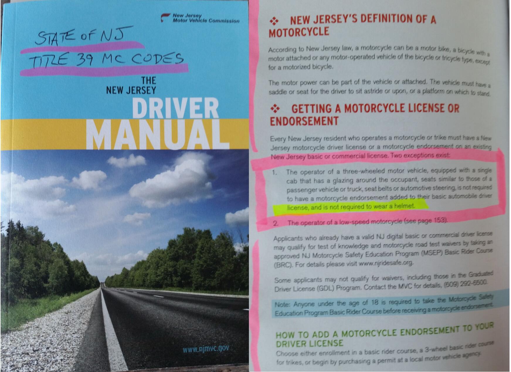 attn nj drivers polaris slingshot forum rh slingshotforums com NJ DMV Registration NJ DMV Points