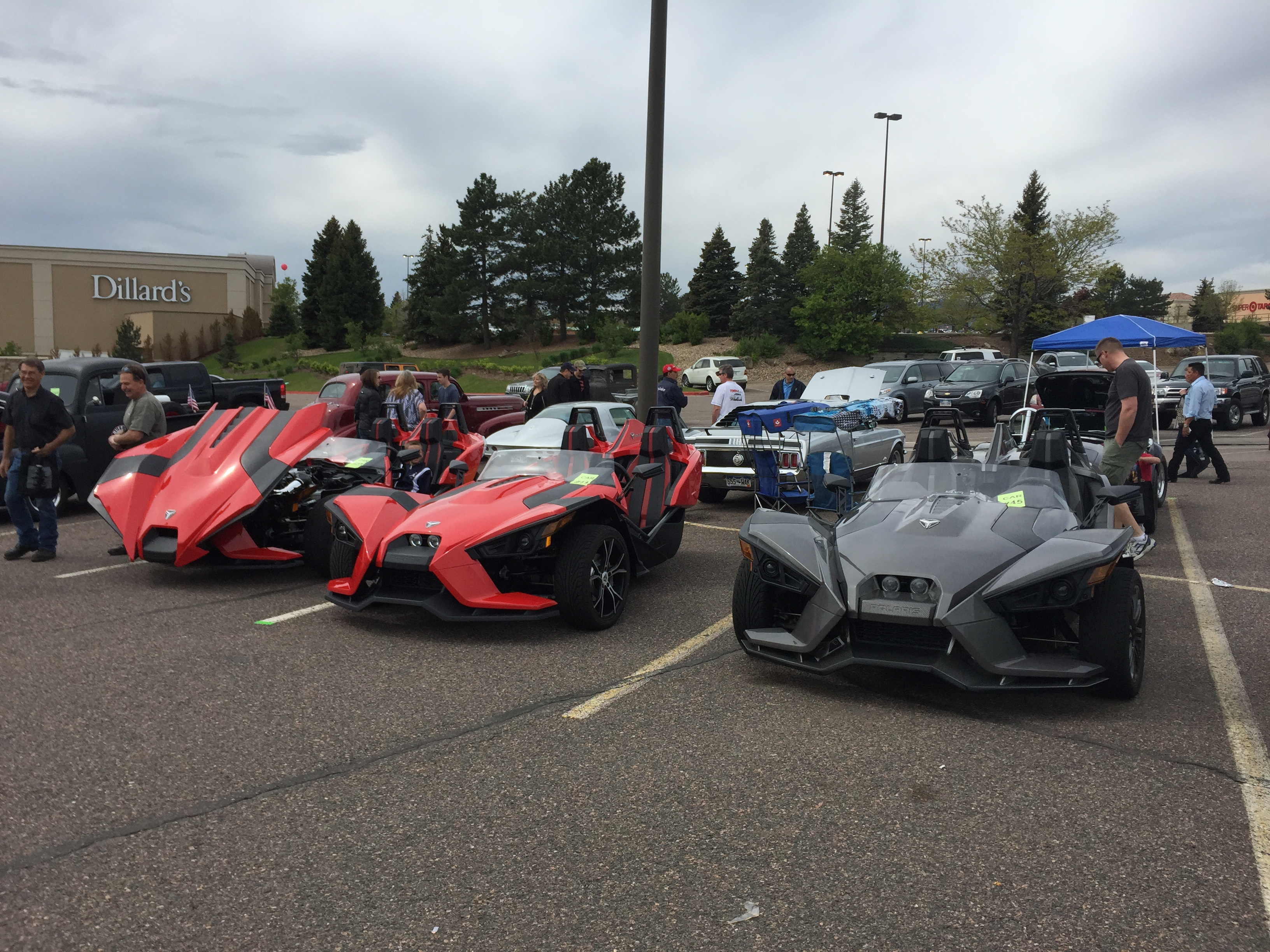 May National Mutliple Sclerosis Society Car Show - Littleton car show