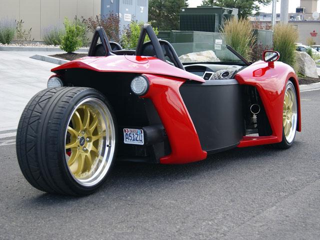 vanderhall introduce three wheel roadster polaris slingshot forum. Black Bedroom Furniture Sets. Home Design Ideas