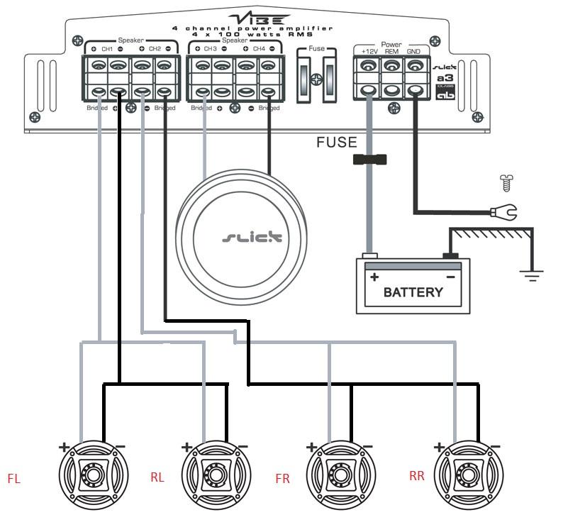 Wiring Help Needed Asap Polaris, Mono Amp Wiring Diagram