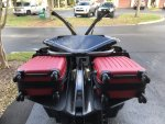 Custom sling luggage racks